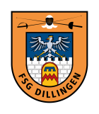 Wappen der Fechtsportgemeinschaft Dillingen 1928 e.V.